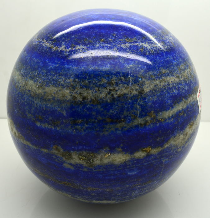 Natural Lapis Lazuli Round Polished Sphere - Whole Round 39 Cm - 3 kg - 3000 Grams