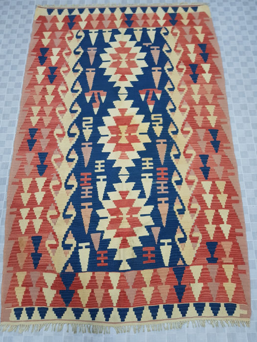 Turkish Kilim 230 cm x 142 cm
