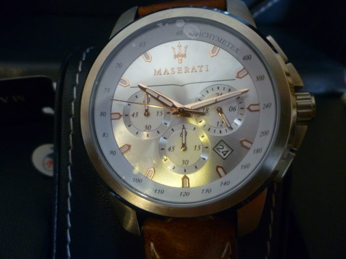 Maserati quartz chronograph watch, Successo model
