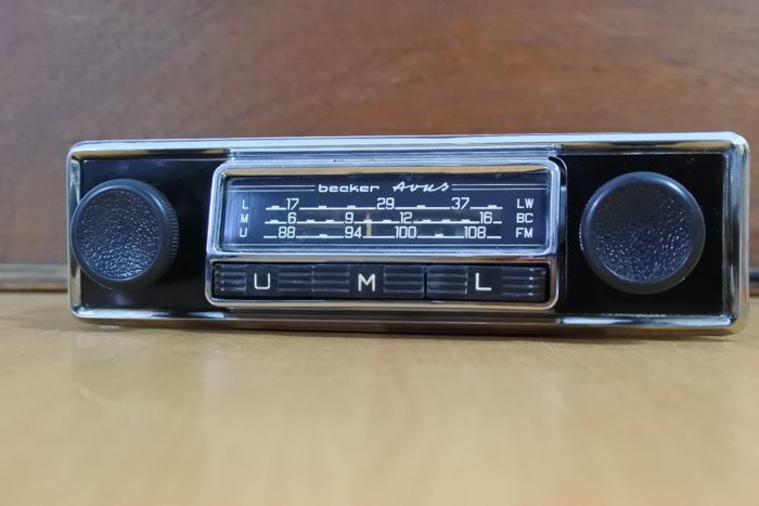 Becker Avus C UML classic car radio - 1966