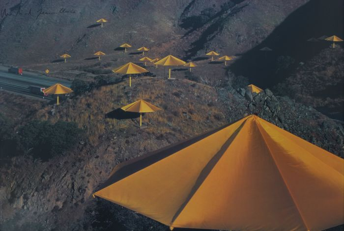 Christo & Jeanne-Claude - The Umbrellas (California site)