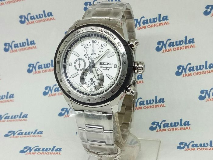 Seiko - Sports CRITERIA - Chronograph 43,5 mm Japan Mov - Snac083p1 - 43,5 mm  173 Gr - Heren - 2011-heden