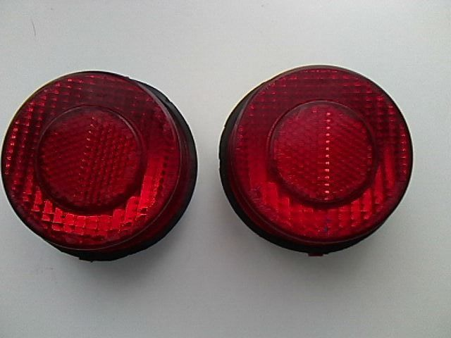 Original 2 Carello Dino 246 taillights 1970s used condition code 34.538.718 E3