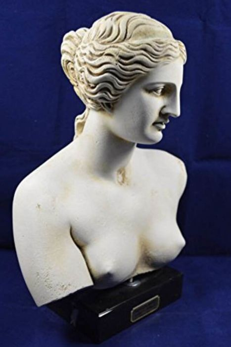Aphrodite bust sculpture Venus Goddess of love Great statue Artifact