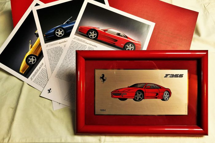 Special lot dedicated to Ferrari 355, in its versions, 'GTS, Spider, Berlinetta, F1'