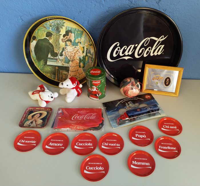 Lot of Coca-Cola items
