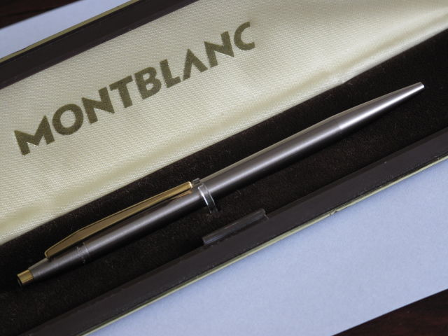 MONTBLANC Noblesse #1928 ballpoint pen in new condition 1974 to 1977 in box.