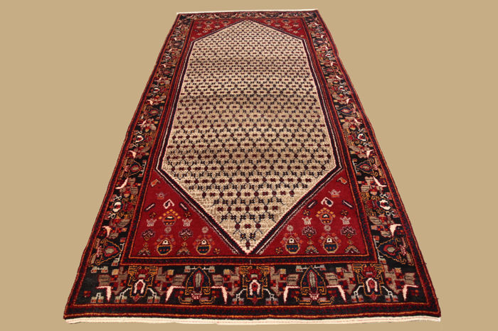 Handwoven Persian carpet Koliai approx. 340 x 155 cm