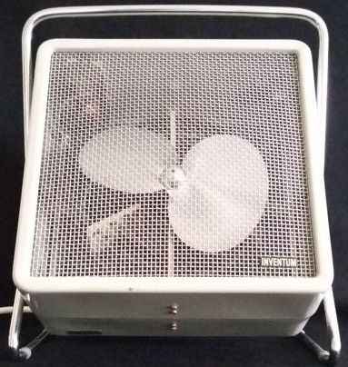 Retro tilting fan/heating - Royal Inventum - end of the 1960s - Netherlands