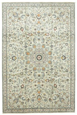 Keshan - knotted by hand - 235 cm x 355 cm - Iran - circa 1965