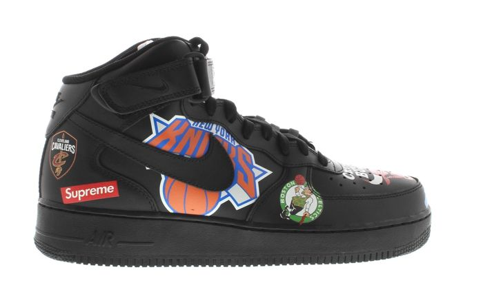 Nike Air Force 1 Mid x Supreme x NBA Turnschuhe Catawiki