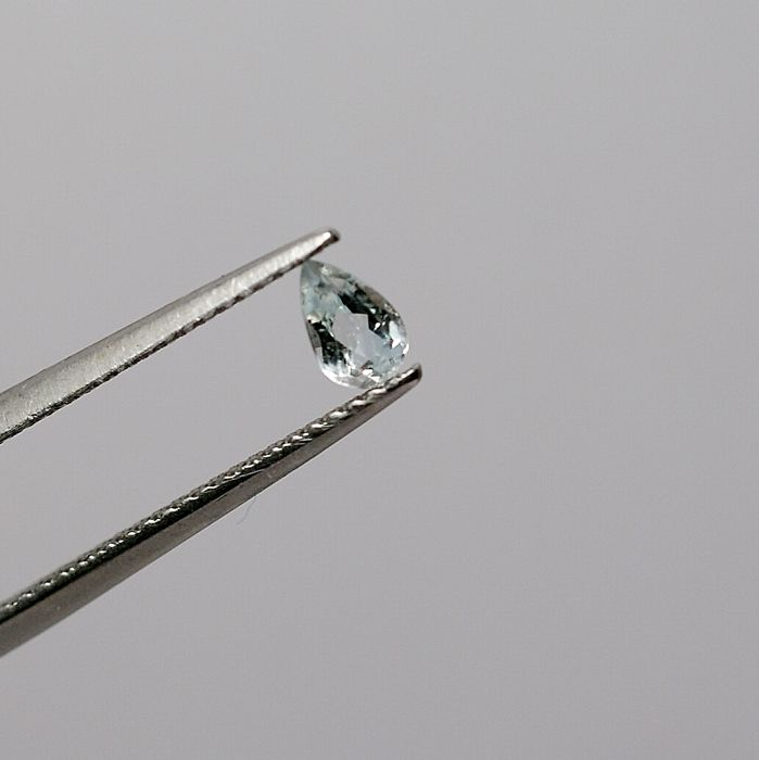 Euclase -light blue,  0,28 ct   No reserve price