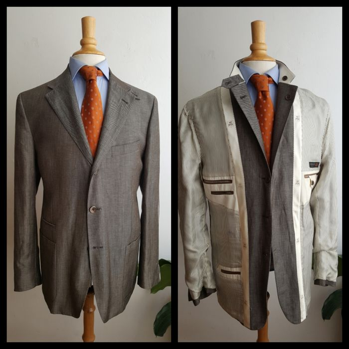 Corneliani - Linen/silk/wool jacket