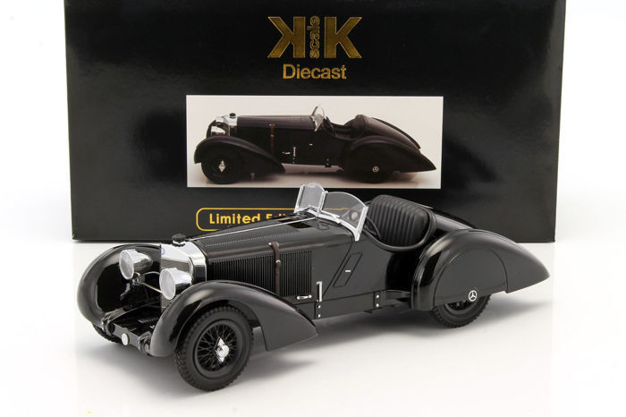 KK Scale - 1:18 - Mercedes-Benz SSK Count Trossi 1930 - Limited Edition or 3,000 pcs.