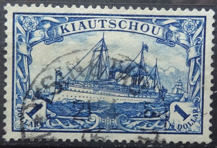 Kiautschou 1901 - Selection of Dolla values