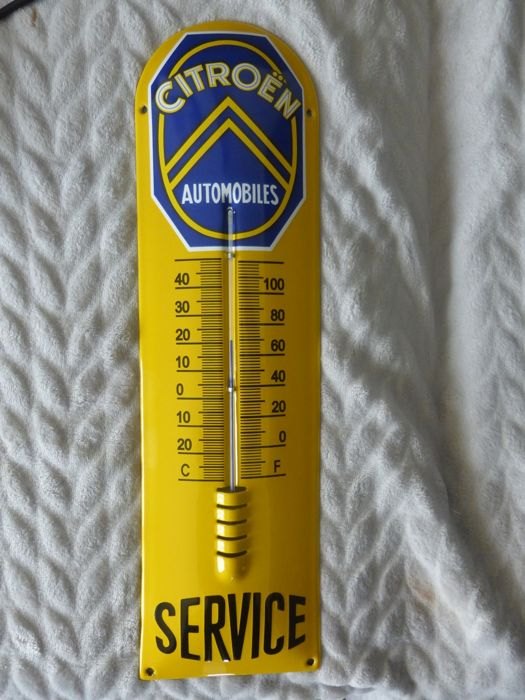 Thermometer CITROËN (emaille)