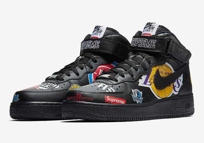 Nike Air Force 1 Mid x Supreme x NBA - Sneakers - Catawiki