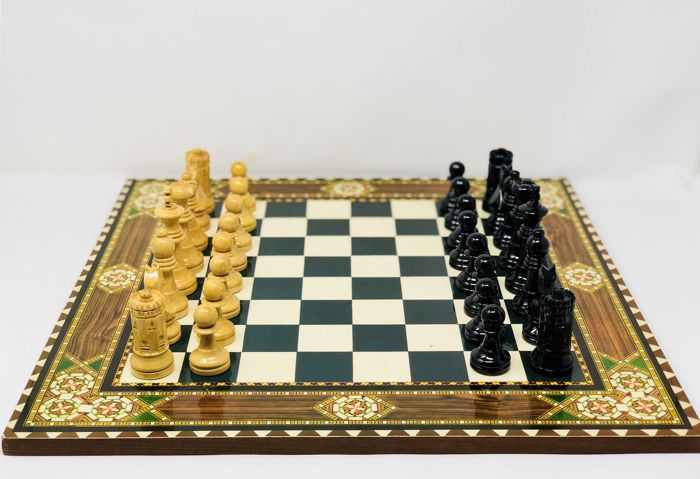 Seville chess with board