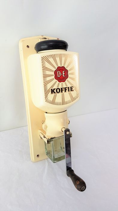 Douwe Egberts - coffee grinder - wall model