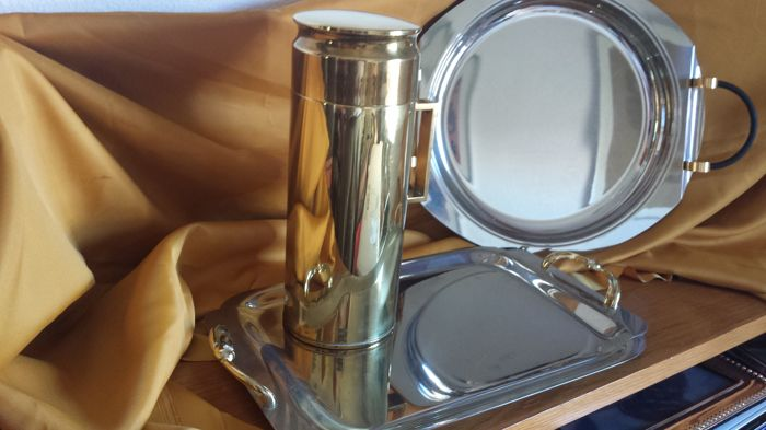 Italian tray and thermos