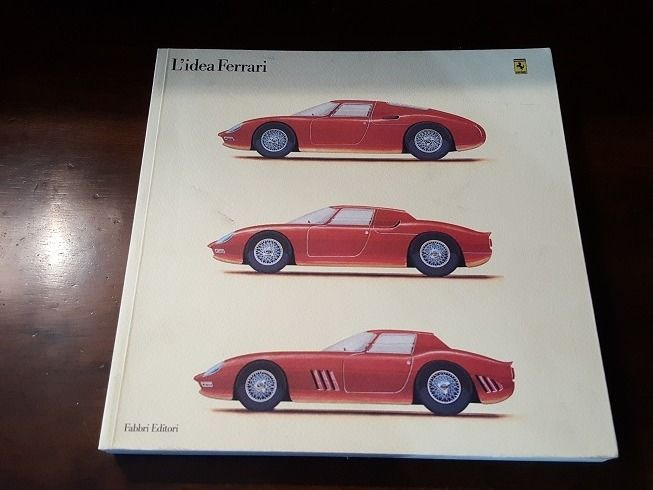 L'idea Ferrari, the most complete reference volume about Ferrari cars until 1990