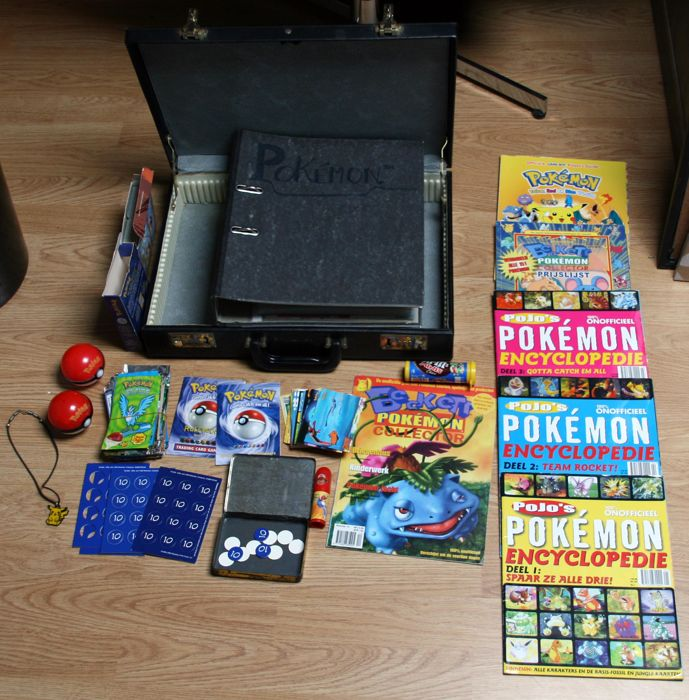 Big lot Pokemon Cards of 1999-2003