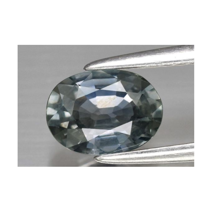 Green-Blue Sapphire from Sri Lanka of 0.97 ct