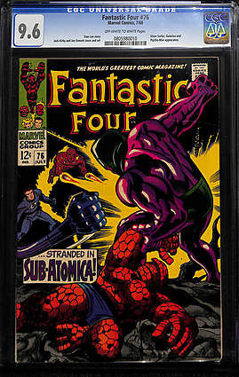 Fantastic Four #76 - Marvel Comics - CGC NM+: 9.6 (1968)