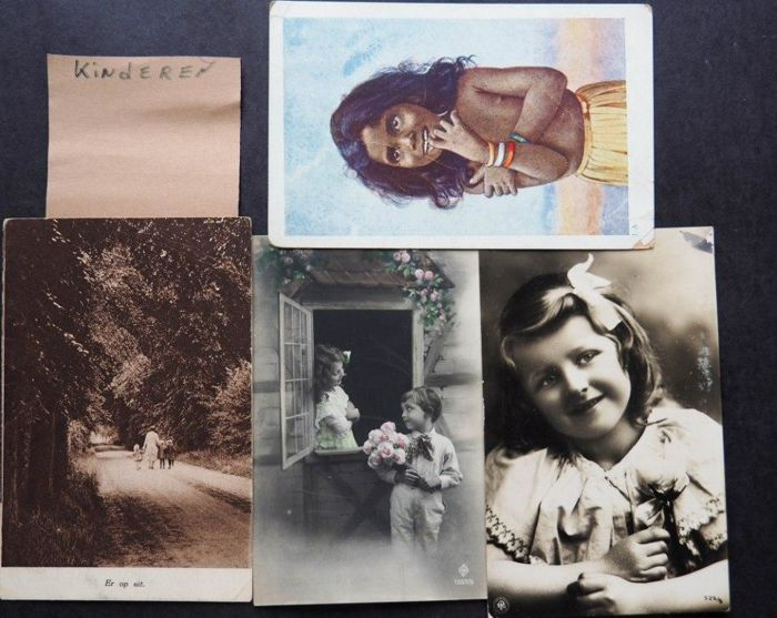 Approx. 500 postcards-various categories-early and middle 20th century.