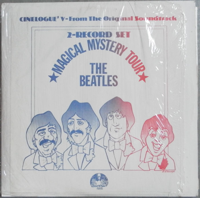 The Beatles 3 LP's and a Very Rare Double Album .