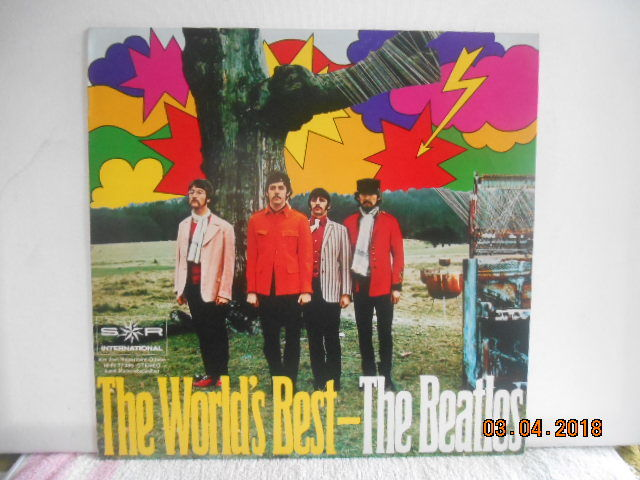the Beatles   3 great albums  incl 1 rare  radio documentary