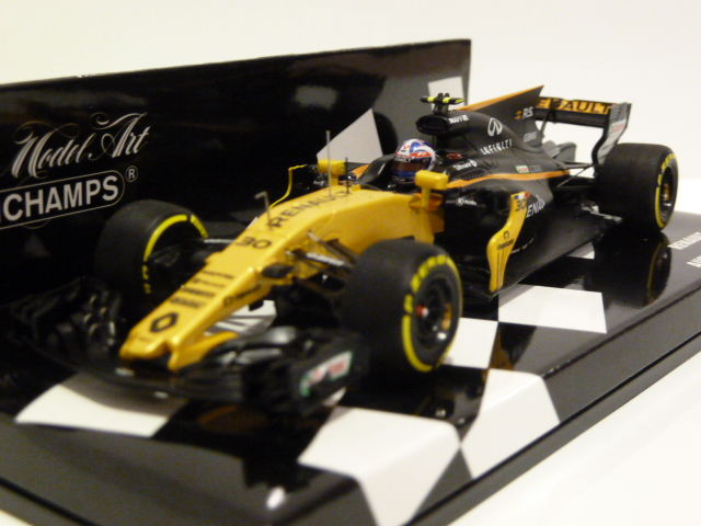 minichamps scale 1 43 renaul sport rs17 f1 jolyon palmer australian gp 2017 catawiki. Black Bedroom Furniture Sets. Home Design Ideas