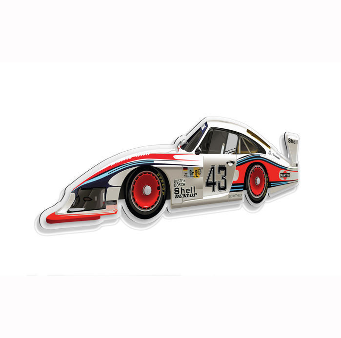 SL - Wall Scale Model Halmo Collection Porsche 935 Moby Dick