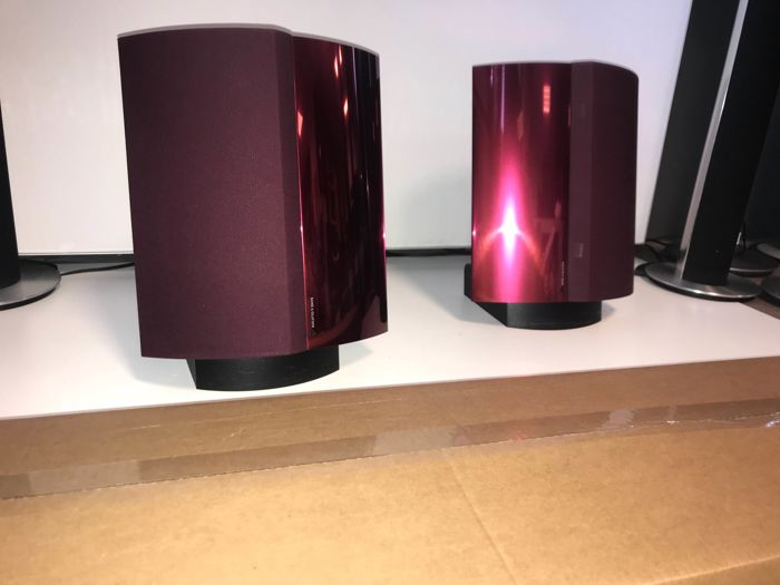 refurbished special wireless bordeaux red beolab 4000 set