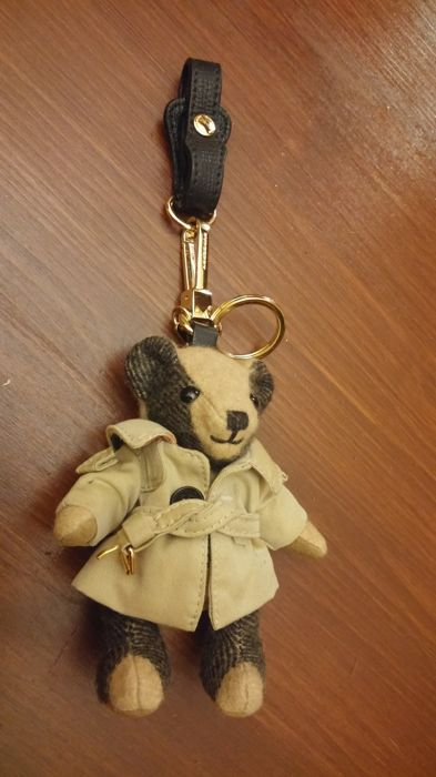 Burberry - Thomas Trench Coat Cashmere BearSleutelhanger, occasion d'occasion