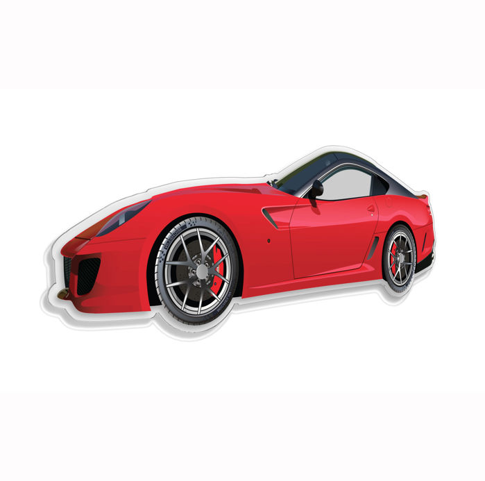 SL - Wall Scale Model Halmo Collection Ferrari 599 GTO