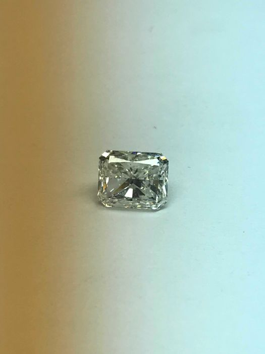 Radiant Cut 1.23 ct  -G VS2  with Egl Usa Cert   -Original Image -10X-EX-EX