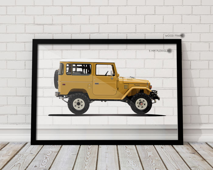 Decoratief object - IK-Halmo Collection Toyota BJ40