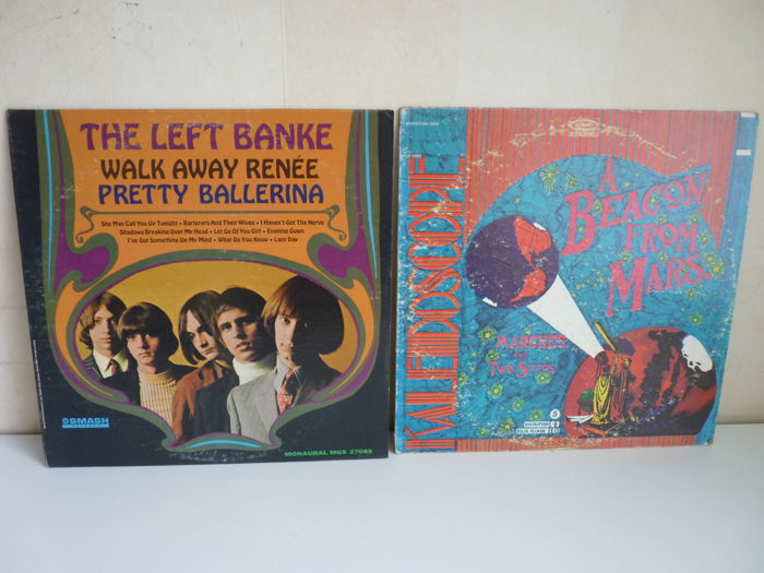 2 Rare West Coast Psychedelic albums from the 60s in a very