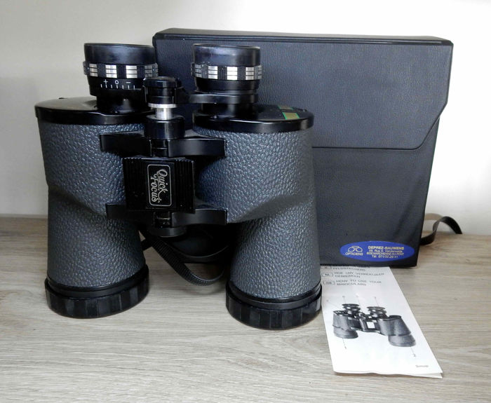 Cobra Quick Focus Binoculars 10x50 wide angle