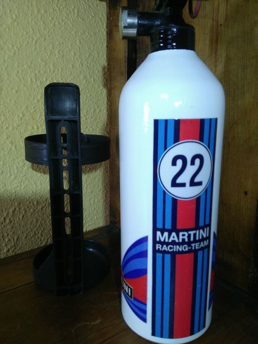 Rare vintage MARTINI PORSCHE 24 Hours of Le Mans fire extinguisher
