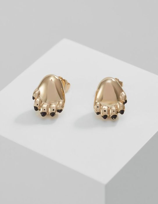 Kenzo Paw Design Earrings 925 Sterling Silver Catawiki