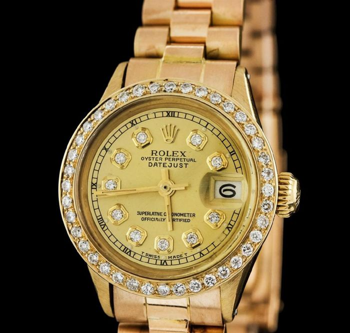 Rolex - Oyster Perpetual Datejust - Ref. 6517 - Women - 1970-1979