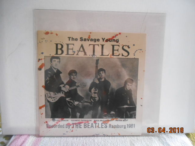 the Beatles  3 albums  incl 1  10'' record