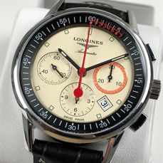 Longines - Heritage Column-Wheel Chronograph Automatic - L4.754.4 - Homme - 2011-aujourd'hui