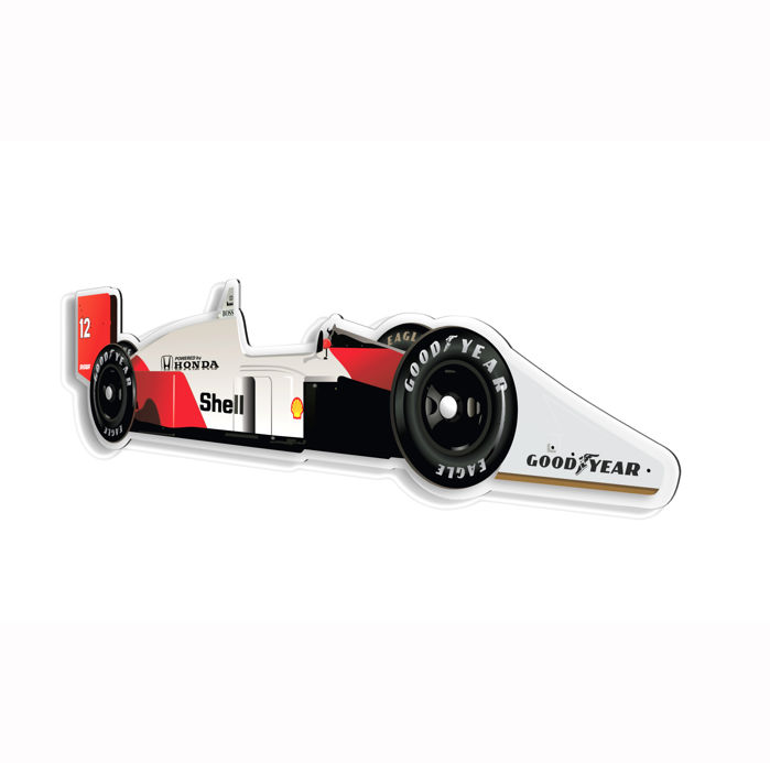 SL - Wall Scale Model Halmo Collection McLaren F1 MP4/4
