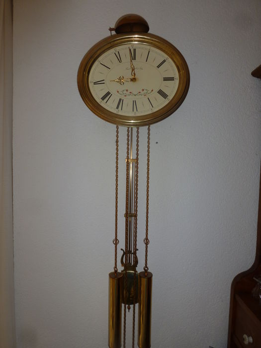 Wall clock, model comtoise - bell strike - Hermle - 1960s/1970s