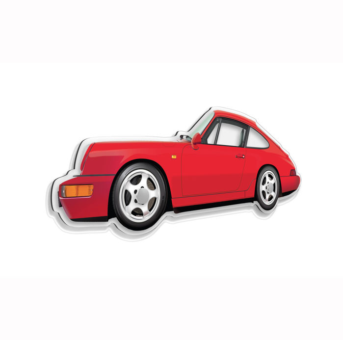 Decorative object - SL-Halmo interpretation Porsche 964 RS - 2018