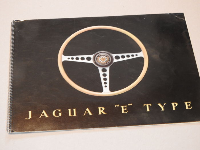 Jaguar E-Type (' Jaguar E-Type ' in the United Kingdom and 'Jaguar XK-E' in the United States) - Brochure