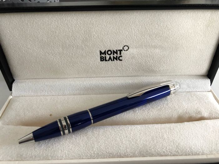 Montblanc cool and blue ballpoint pen